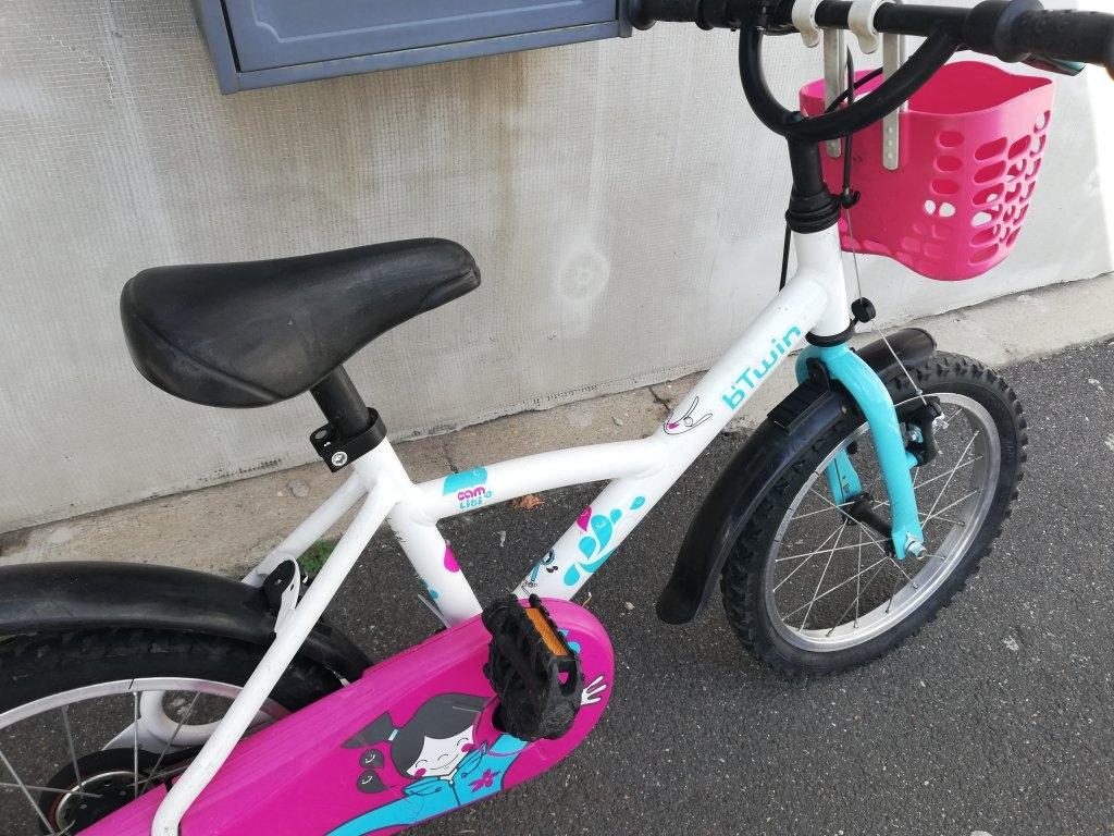Újszerű B'TWIN 16″ gyerek kerékpár!