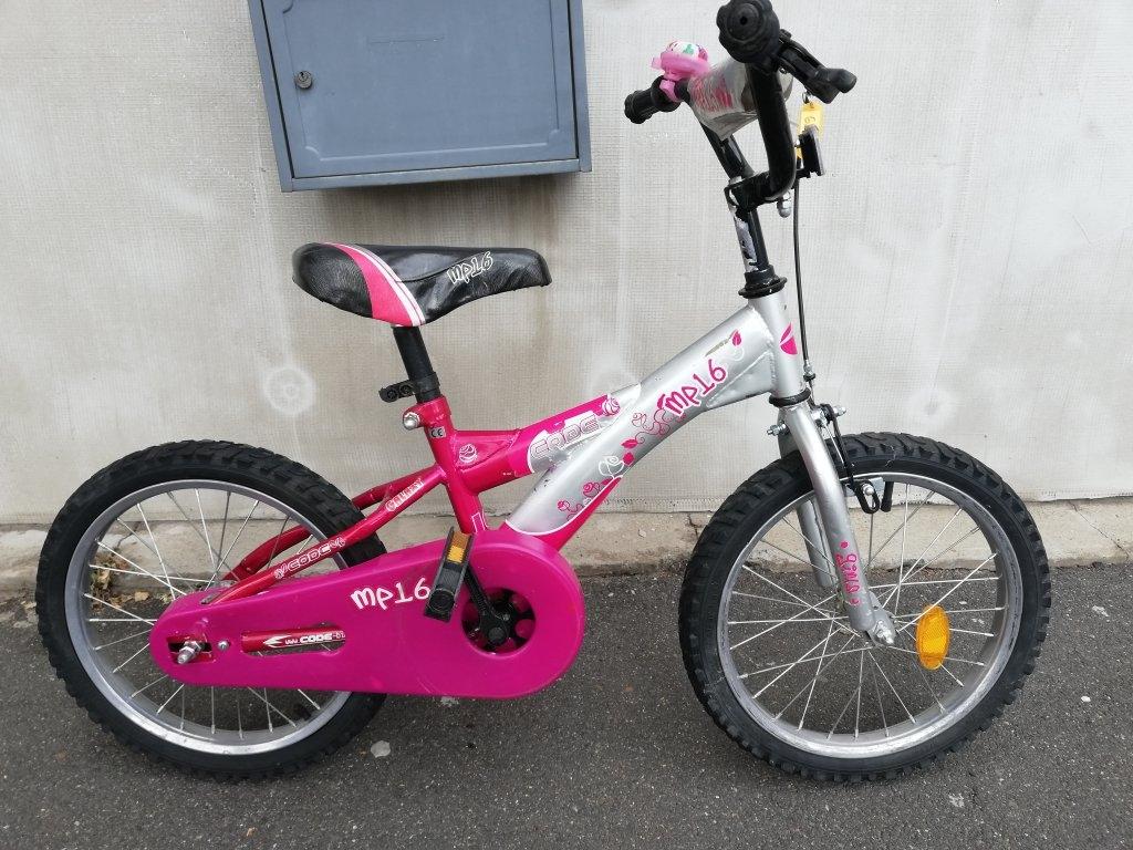 MP-16 kislány 16″ kontrafékes kerékpár!