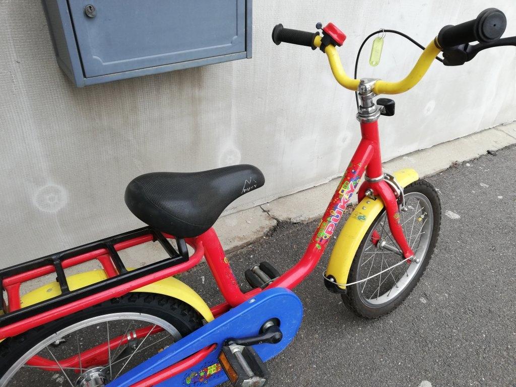 POKY 16″ kontrafékes kerékpár!