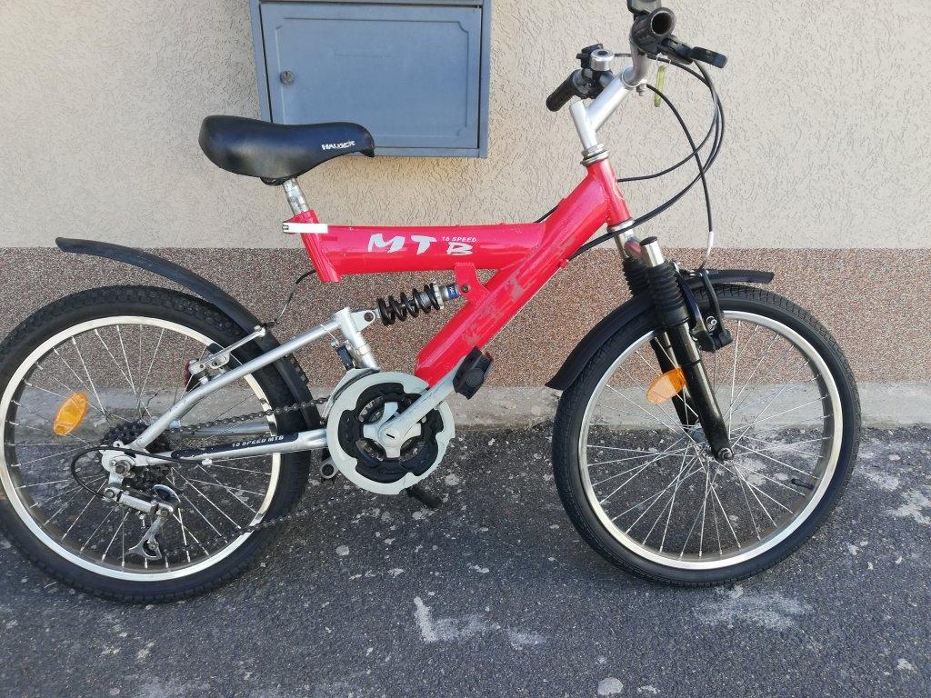 MTB 18 speed őszteleszkópos kerékpár!