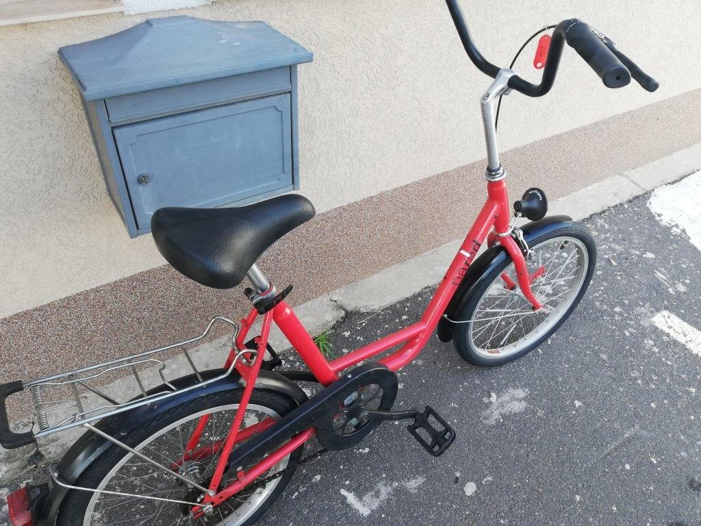 Újszerű PARAD 20″ camping kontrafékes kerékpár!