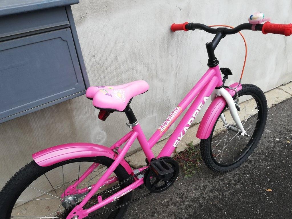 Új Skarpea 20″ pink kontrafékes kerékpár!