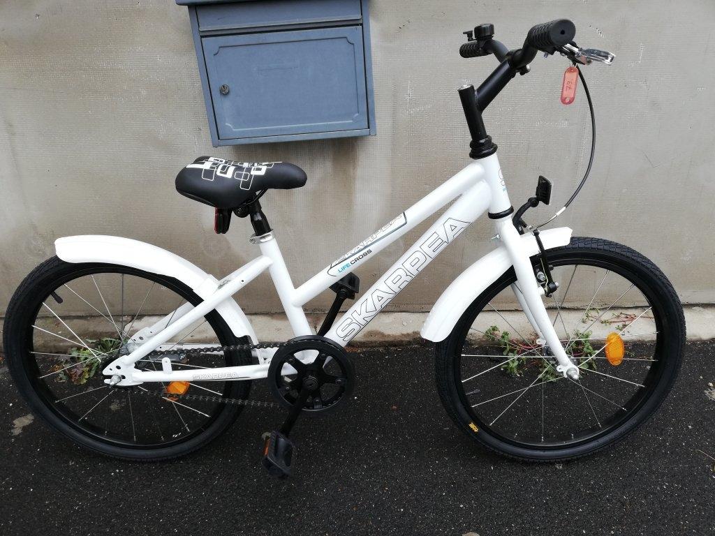Új SKARPEA 20″ fehér kontrafékes kerékpár!
