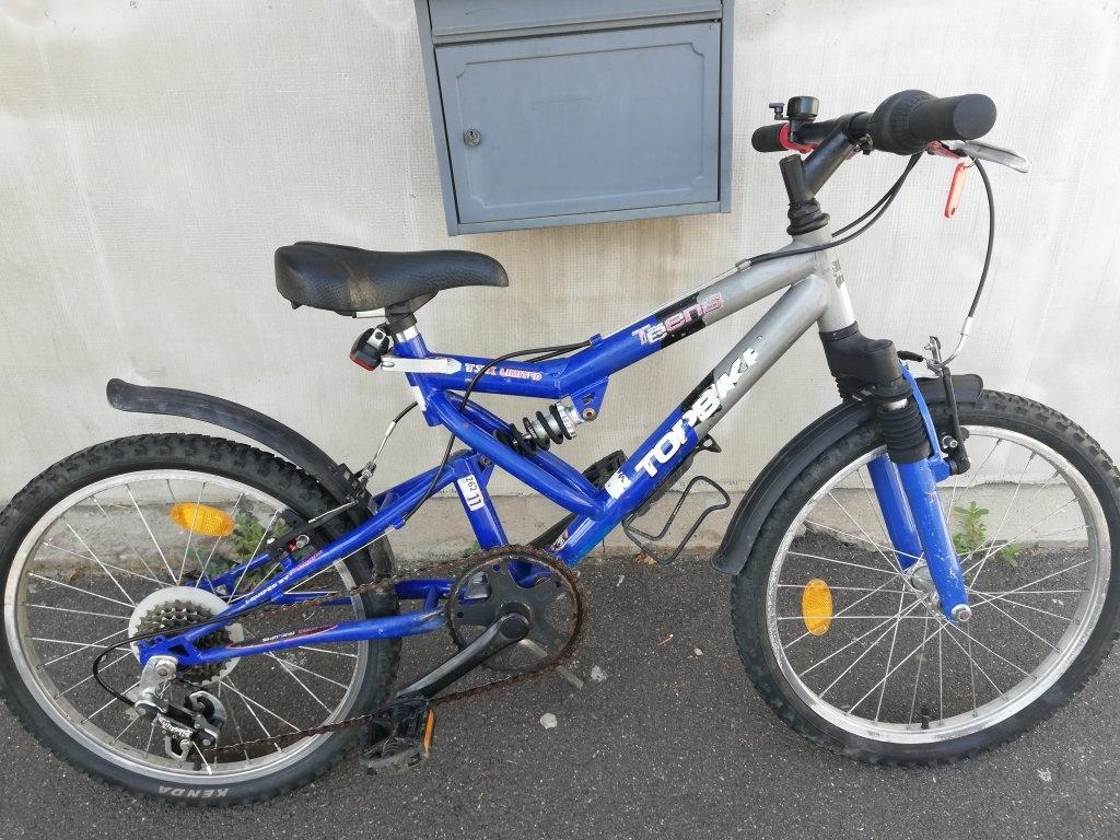 TOPBIKE 20″ őszteleszkópos kerékpár!