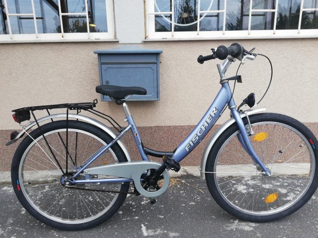 Újszerű FISCHER 24″ agyváltós kontrafékes kerékpár!