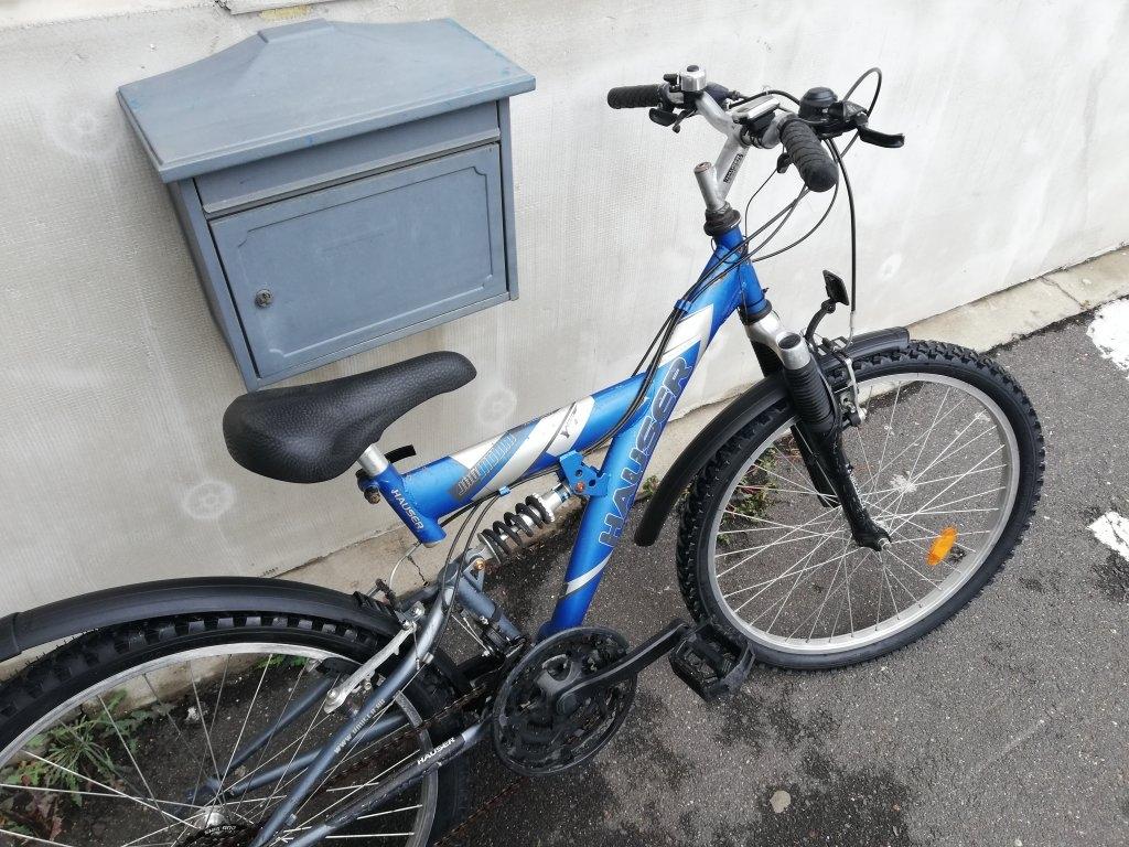 HAUSER 24″ ffi őszteleszkópos kerékpár!