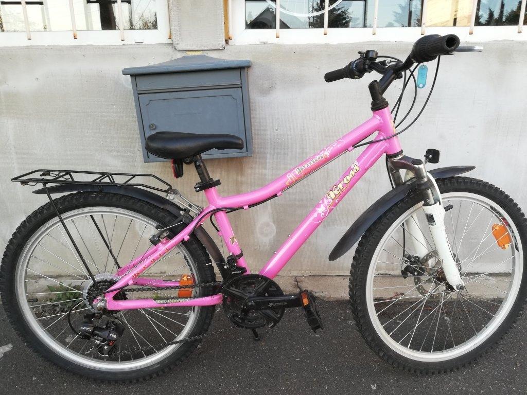 Újszerű KROSS 24″ junior aluvázas kerékpár!