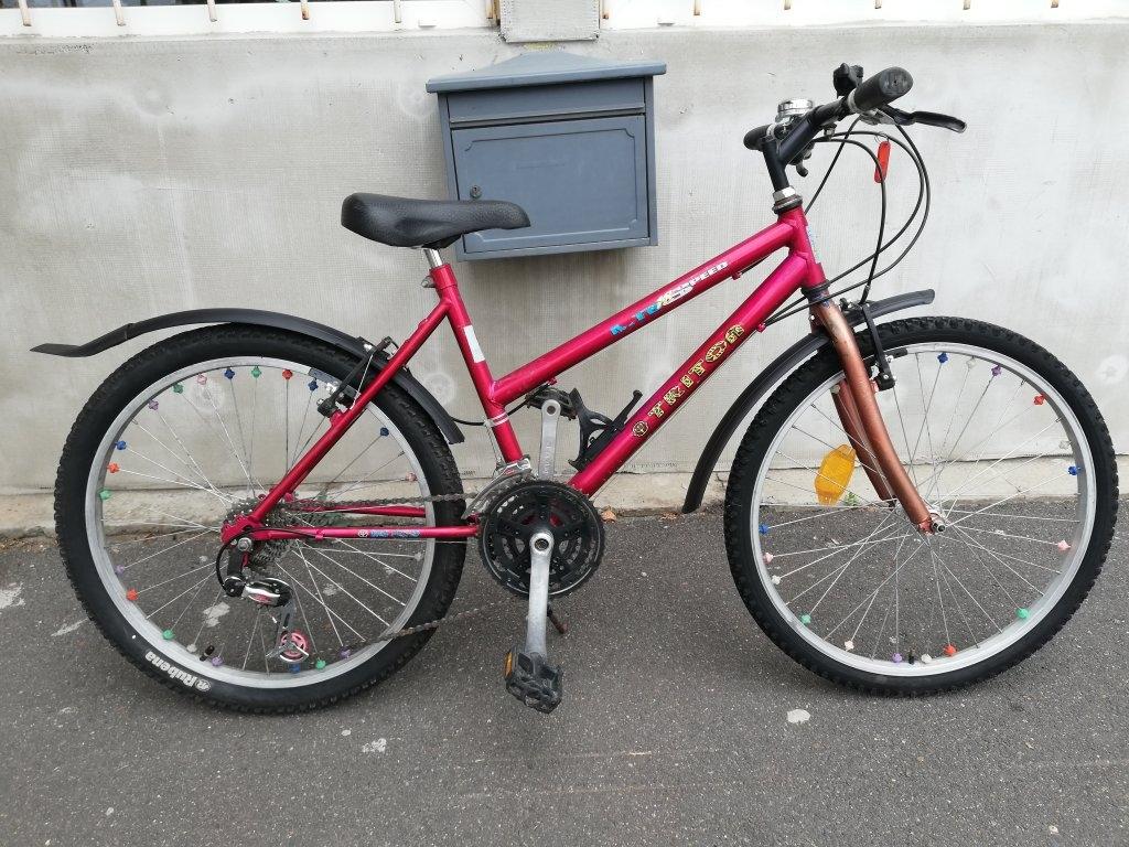 TRITON 24″ kislány kerékpár!