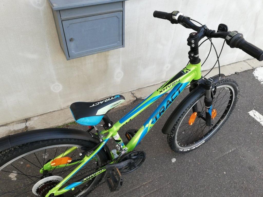 Újszerű X-TRACT 24″ aluvázas kerékpár!