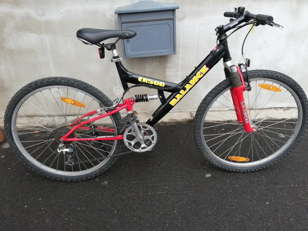 BALANCE CR500 őszteleszkópos kerékpár!