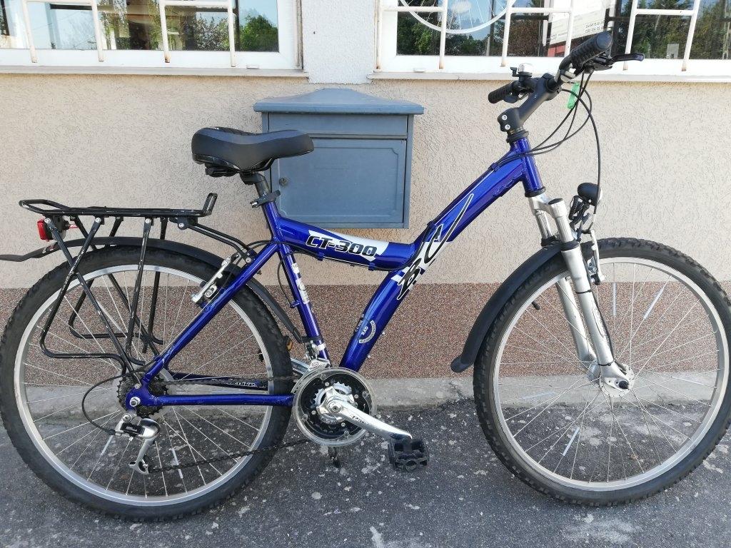 BC CT300 26″ aluvázas agydinamós kerékpár!