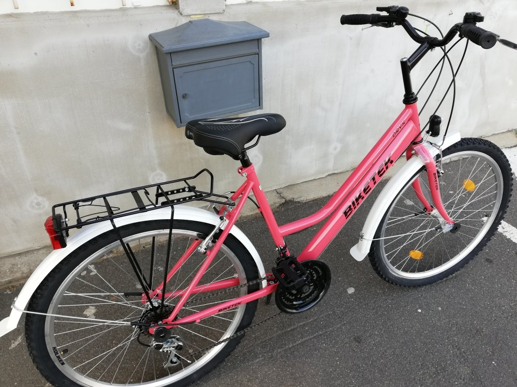 Új Biketek Oryx rozé 26″ Női kerékpár!