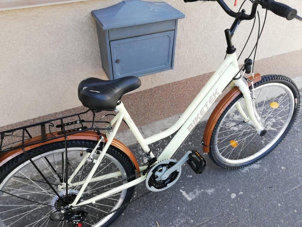 Új Biketek Oryx 26″ Női latte kerékpár!