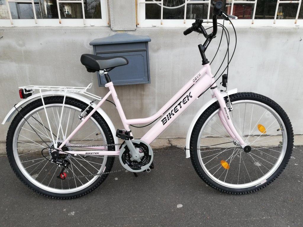 Új BIKETEK ORYX 26″ Női pink kerékpár!
