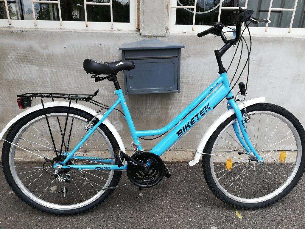Új BIKETEK ORYX 26″ Női piros kerékpár!