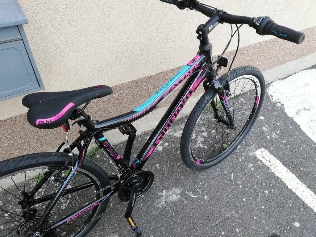 Új CAPRIOLO ATTACK lady 26″ Női aluvázas kerékpár!