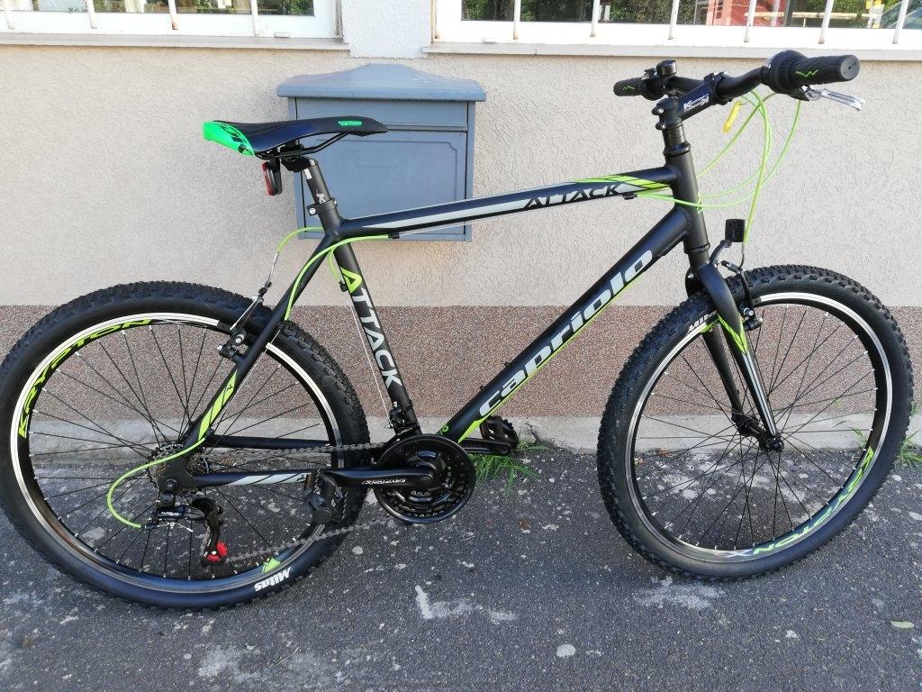Új CAPRIOLO ATTACK 26″ ffi aluvázas kerékpár!