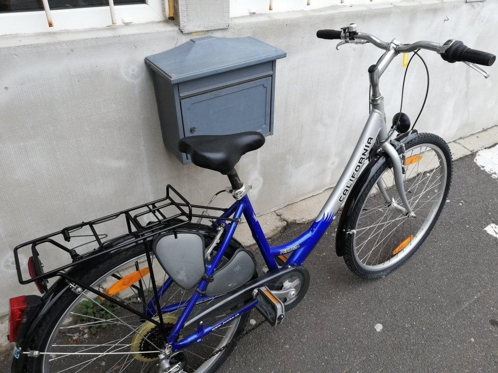 Újszerű CALIFORNIA PERUGIA 26″ Női aluvázas kerékpár!