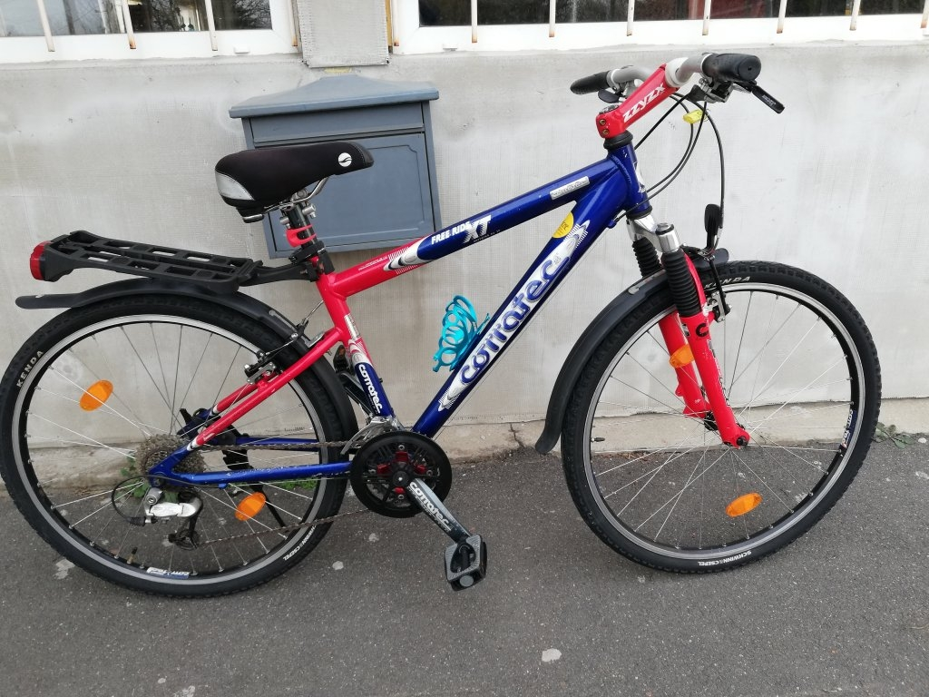 Újszerű CORROTEC FREE RIDE XT 26″ aluvázas kerékpár!