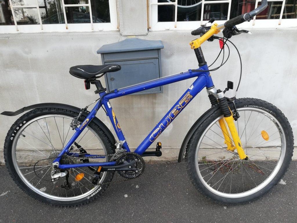 CUBE 26″ ffi aluvázas kerékpár!