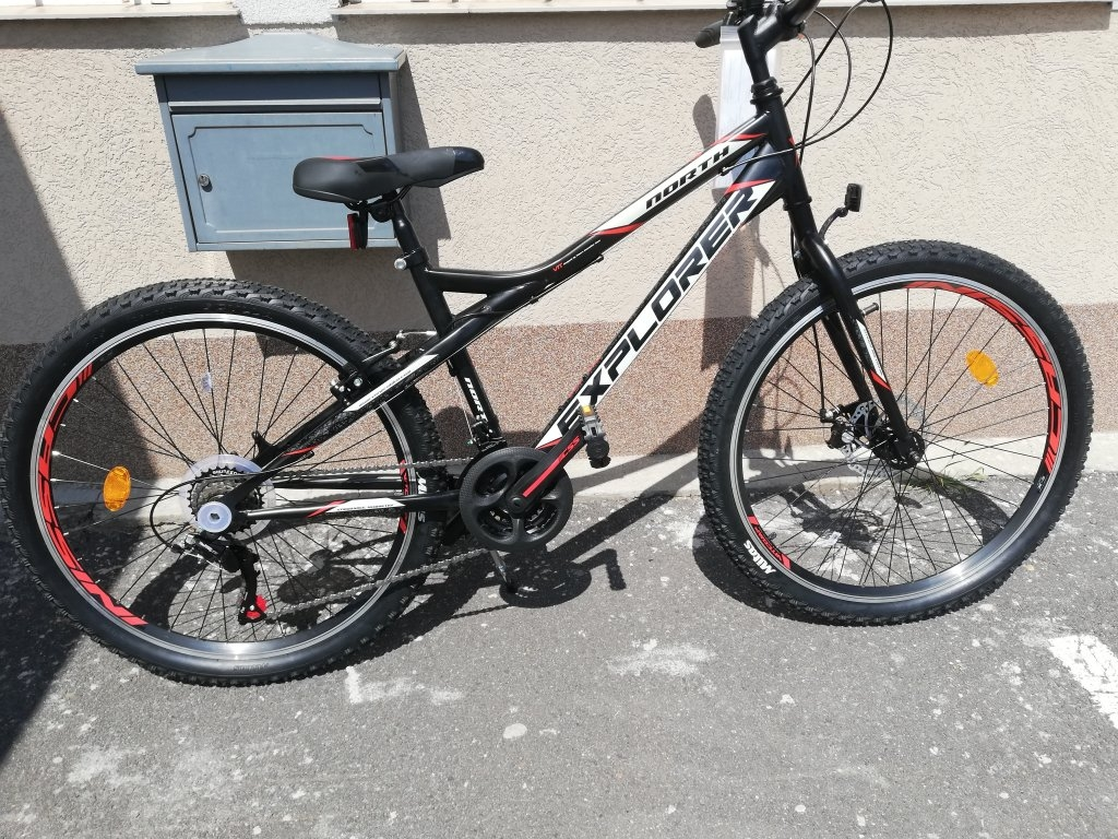 Új EXPLORER NORTH 26″ unisex tárcsafékes kerékpár!