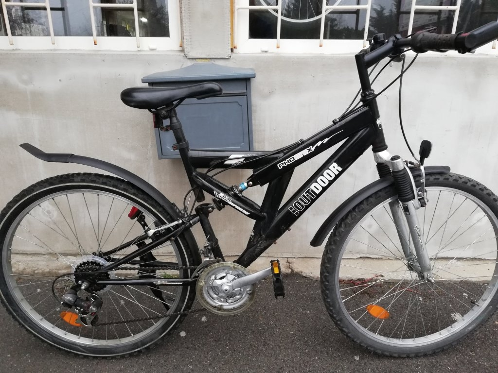 IOUTDOOR 26″ ffi őszteleszkópos kerékpár!