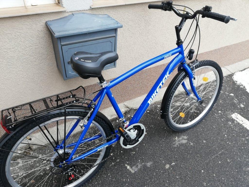 Új BIKETEK ORYX 26″ ffi kék kerékpár!