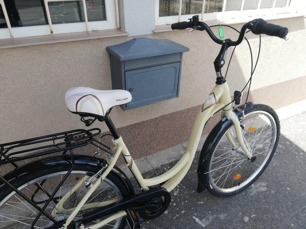 Új Koliken Sweetbike 26″ Női krém kerékpár!