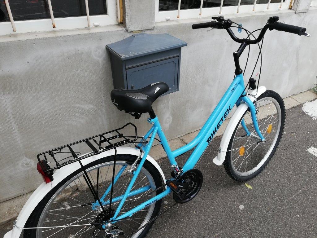 Új Biketek Oryx 26″ kék Női kerékpár!