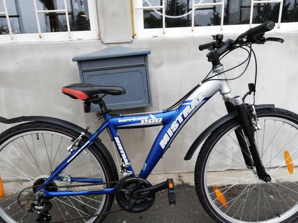 Újszerű MISTRAL HURRICANE 26″ aluvázas kerékpár!