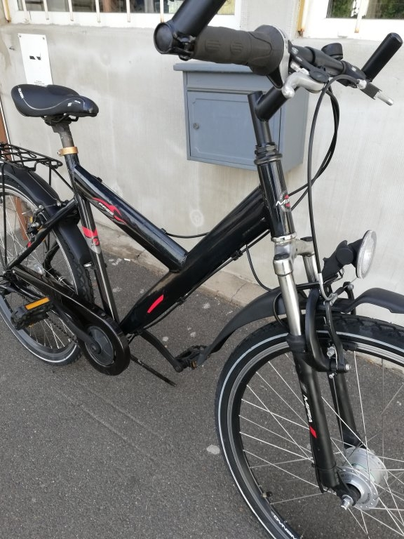 MIFA 26″ aluvázas agyváltós agydinamós kerékpár!