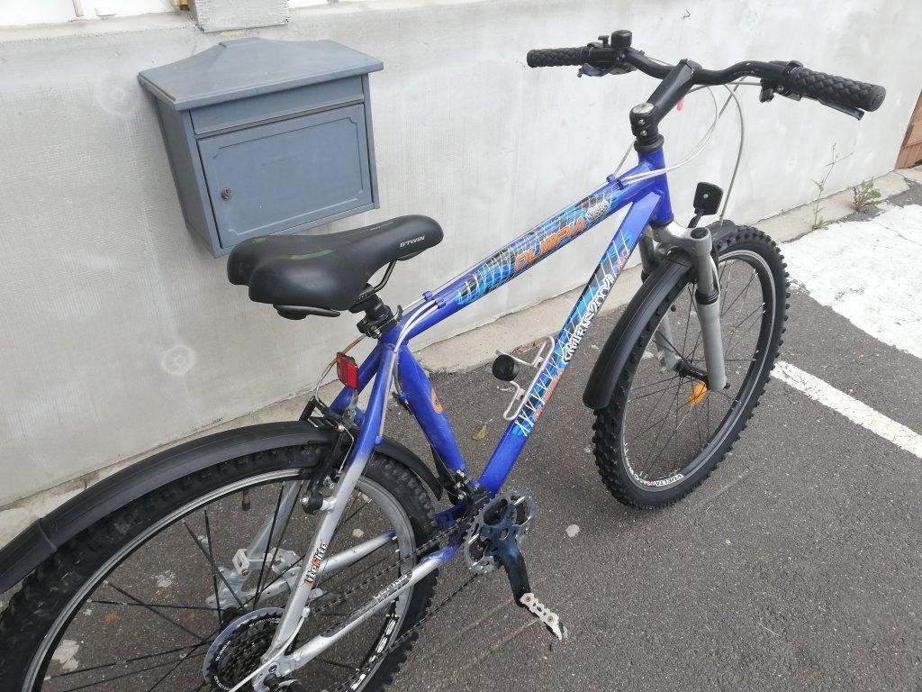 OLIMPIA 26″ ffi aluvázas kerékpár!