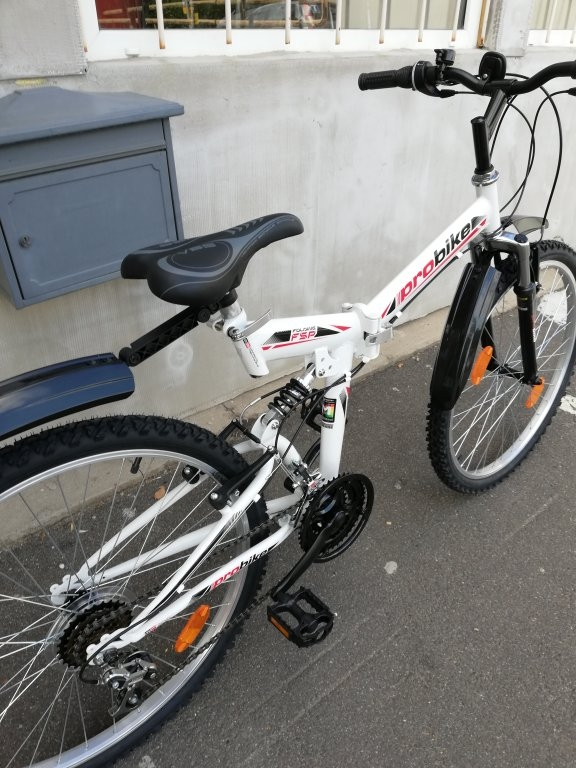 Új PROBIKE 26″ őszteleszkópos összecsukhatós kerékpár!