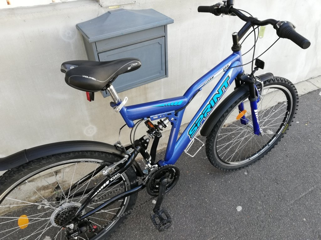 Újszerű SPRINT 26″ ffi őszteleszkópos kerékpár!