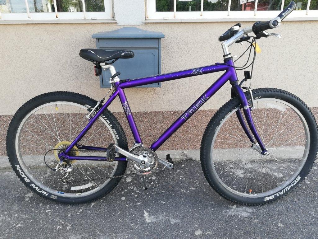 Újszerű TREK ZX7000 26″ ffi aluvázas kerékpár!