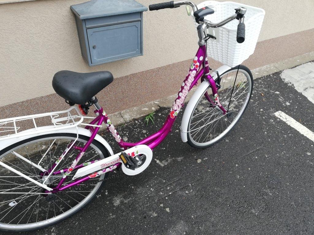 Új VENSSINI 26″ Női kontrafékes kerékpár!