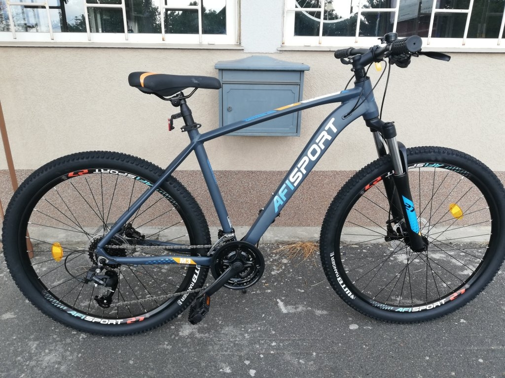 Új Afisport 27,5″ ffi aluvázas tárcsafékes kerékpár!