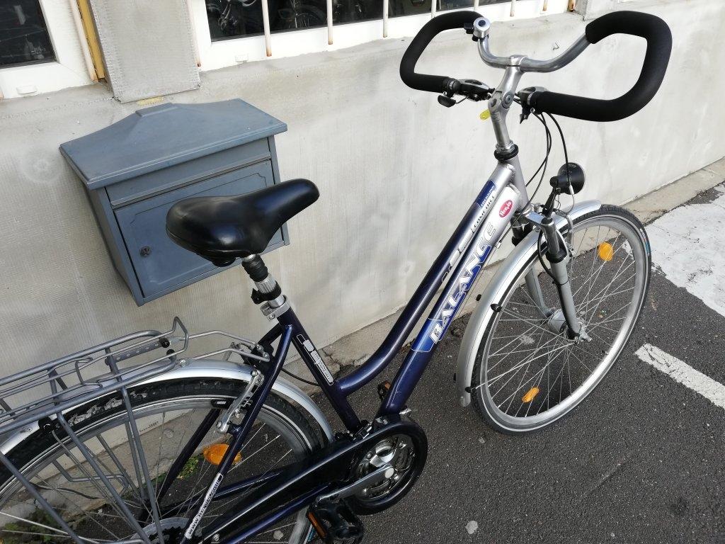 Újszerű BALANCE 28″ Női aluvázas agydinamós kerékpár!