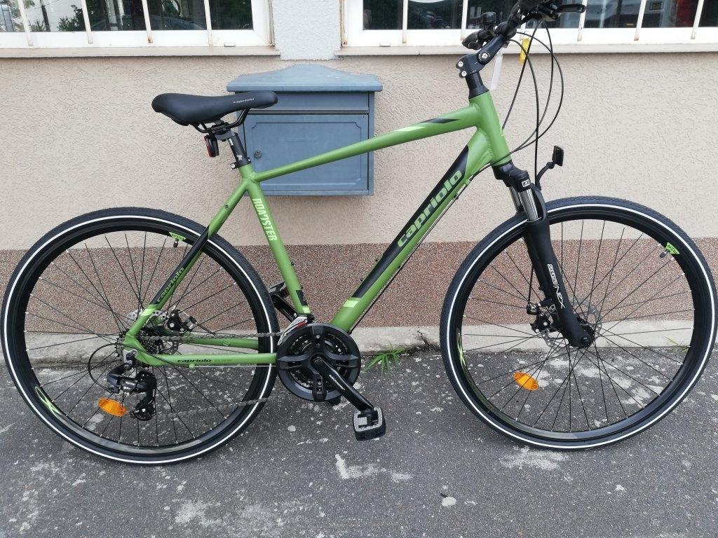 Új CAPRIOLO ROADSTER 28″ ffi aluvázas tárcsafékes kerékpár!