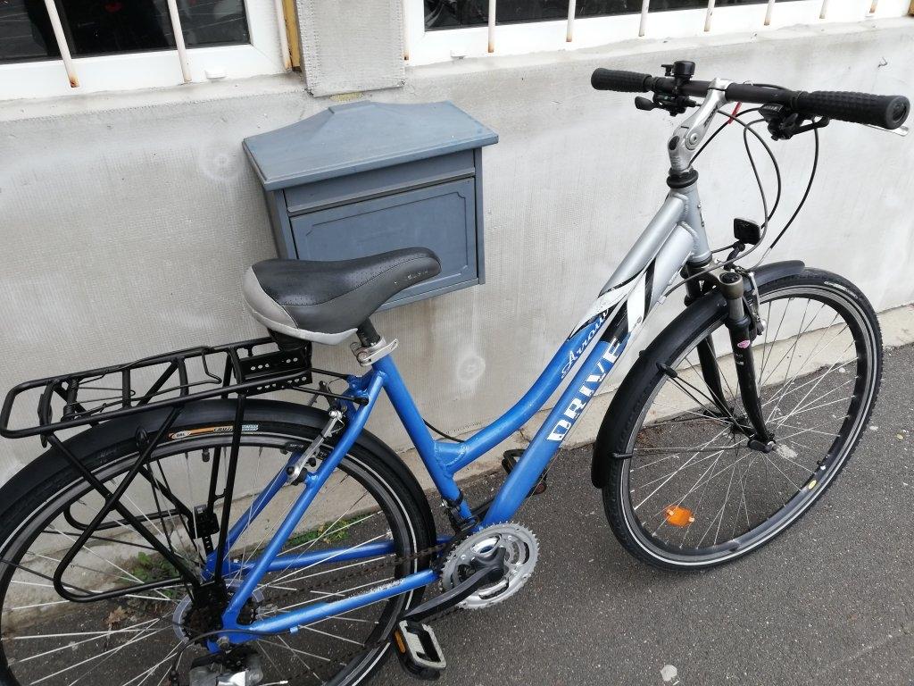 DRIVE 28″ Női aluvázas kerékpár!