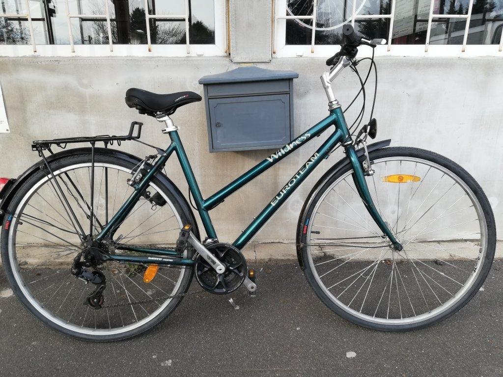 EUROTEAM WILDNESS 28″ Női aluvázas kerékpár!