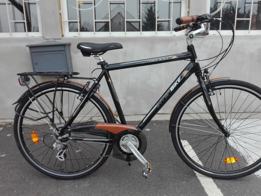 Új INTERBIKE trenoy 28″ aluvázas kerékpár!