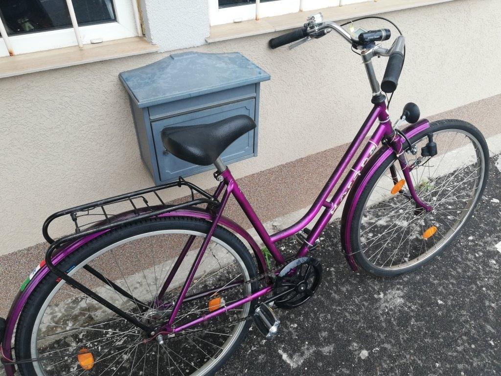 KORONA 28″ Női kontrafékes kerékpár!