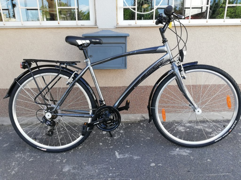 Új KOLIKEN GISU 28″ ffi ezüst kerékpár!
