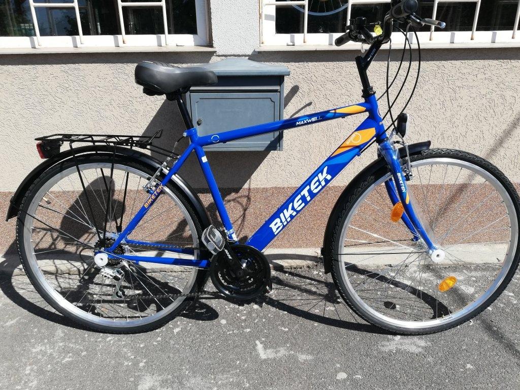 Új Biketek Maxwell 28″ ffi kék kerékpár!