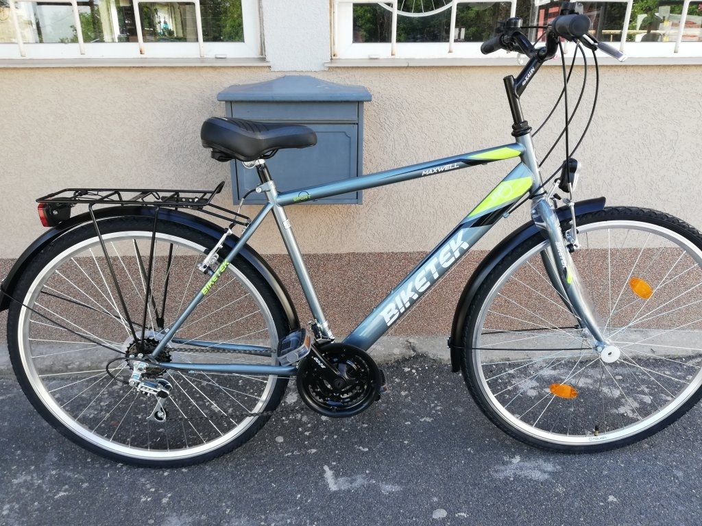 Új BIKETEK MAXWELL 28″ ffi grafit kerékpár!