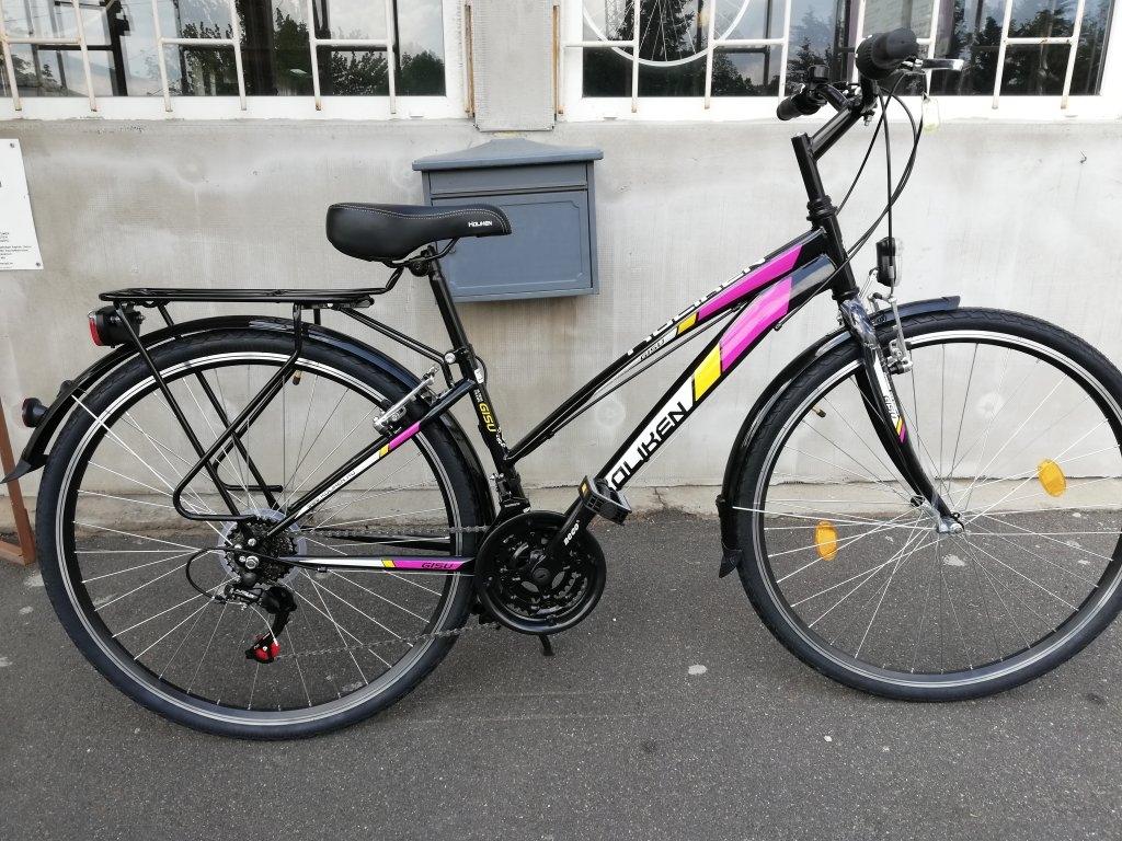 Új Koliken Gisu fekete 28″ Női kerékpár!