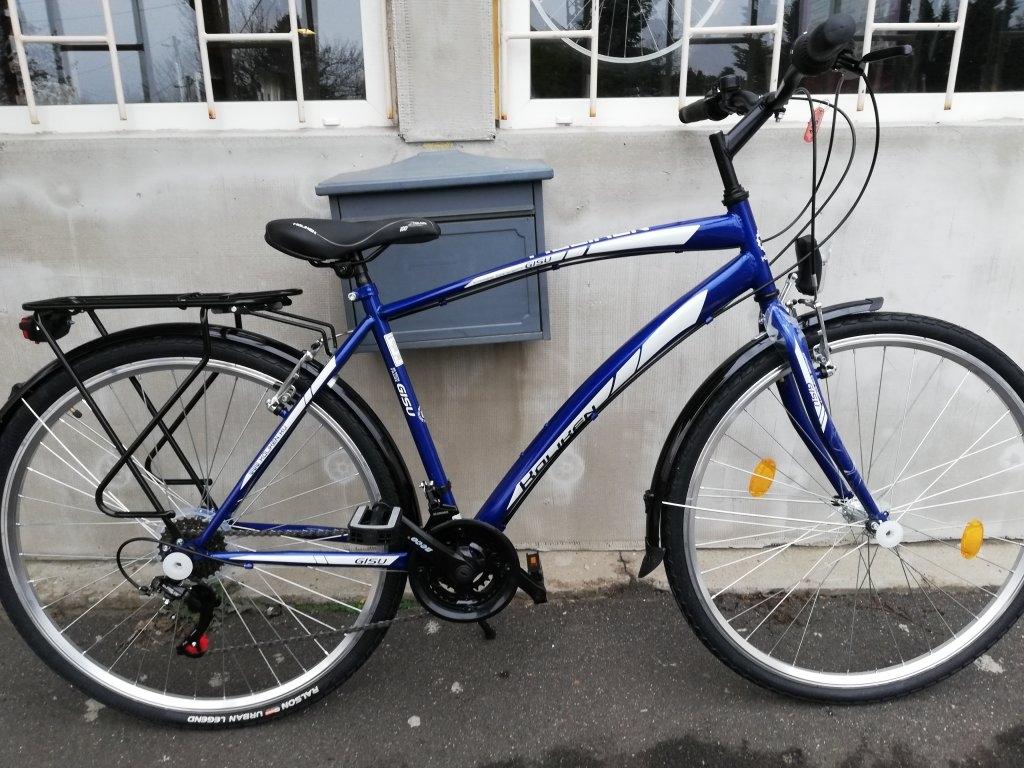 Új KOLIKEN GISU 28″ ffi kék kerékpár!