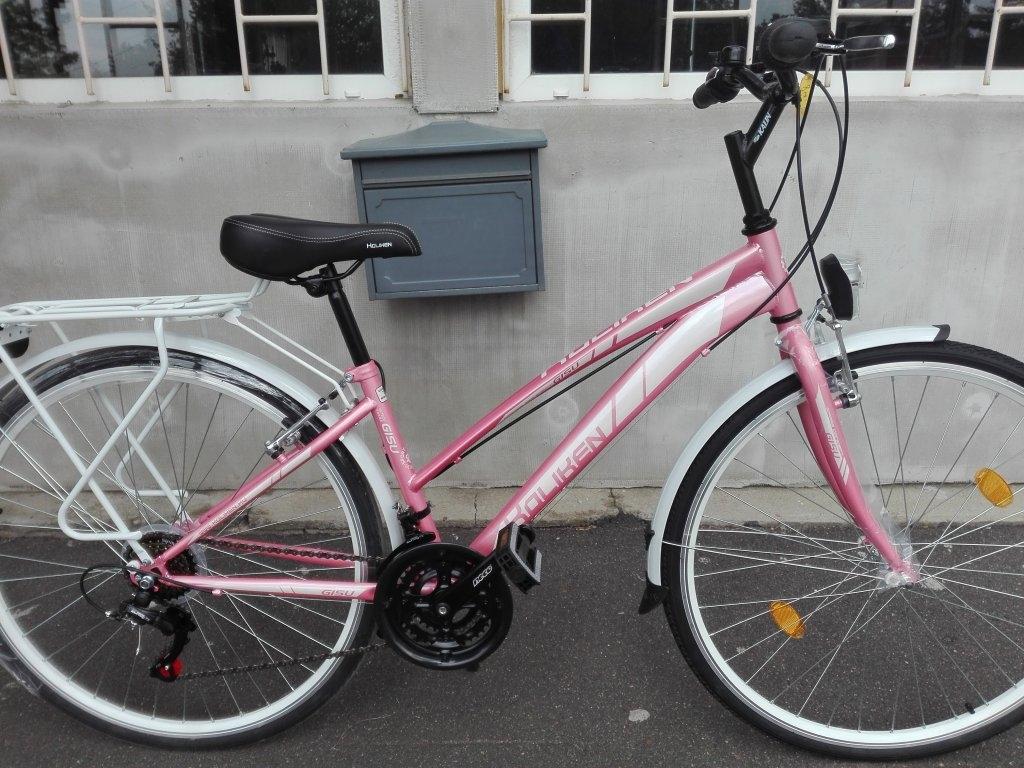 Új KOLIKEN GISU rózsa 28″ Női kerékpár!