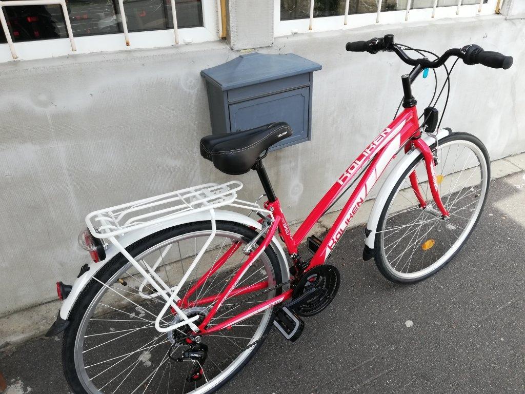 Új Koliken Gisu piros 28″ Női kerékpár!